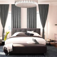 Big house: Спальни в . Автор – GM-interior
