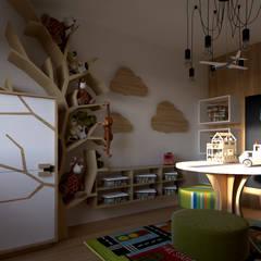 Play Room: Quartos de criança  por Mdimension