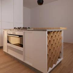 Cozinha Chaves: Cozinhas  por Mdimension