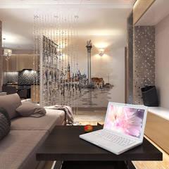 Salas / recibidores de estilo  por Your royal design, Minimalista