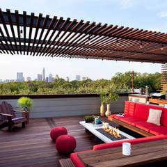 Flat roof by NOUVELLE. | Proje Danışmanlık