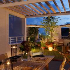 Balcony: (有)ハートランドが手掛けたテラス・ベランダです。