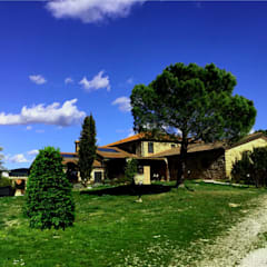 AYTÜL TEMİZ LANDSCAPE DESIGN – İTALYA 'TOSKANA-PEYZAJ PROJE &UYGULAMA // ITALY 'TUSCANY - LANDSCAPE PROJECT&APPLICATION:  tarz Bahçe