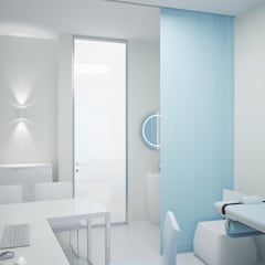 A medical clinic. Project of an office replanning.:  Krankenhäuser von nadine buslaeva interior design