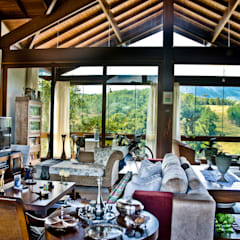 Phòng khách by Carlos Eduardo de Lacerda Arquitetura e Planejamento