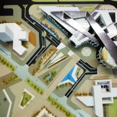EPICENTRO DE MODA: Centros de exhibiciones de estilo  por AKUMAJAA PROYECTOS, Moderno