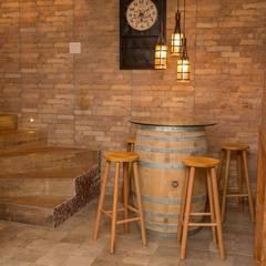 Projekty,  Piwnica win zaprojektowane przez Marcelo Lopes Arquitetura