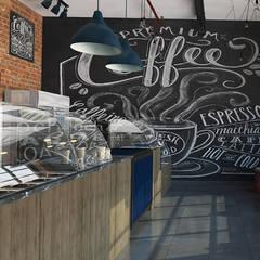 Interior Design of a Bakery / Cafeteria in SA:  Gastronomy by Inspiria Interiors