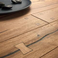 PARQUET 1 RUSTIC : Paredes de estilo  de Rochene Floors