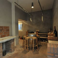 Wine cellar by studio arch sara baggio