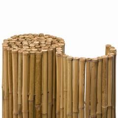 Bambusmatte Deluxe Nature   Idealer Sichtschutz für Garten, Balkon und Terrasse.:  Terrasse von Bambuskontor