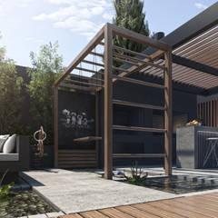 Espacio juegos: Terrazas de estilo  por TDC - Oficina de arquitectura
