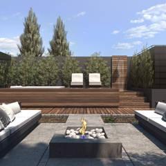 Espacio Solarium: Terrazas de estilo  por TDC - Oficina de arquitectura