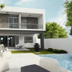 minimalistic Pool by Diez y Nueve Grados Arquitectos