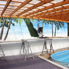 Der Prozess / Tag 4: ausgefallener Pool von fialkowske design