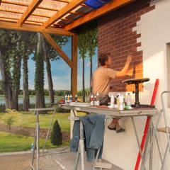 Der Prozess / Tag 3:  Garage & Schuppen von fialkowske design