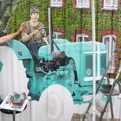 Der Prozess - Tag 30:  Garage & Schuppen von fialkowske design