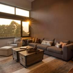 Sala Familiar: Salas de estilo  por DLPS Arquitectos