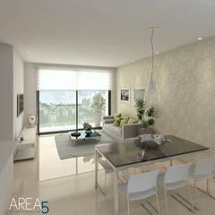 Evora85: Salas de estilo  por Area5 arquitectura SAS, Moderno