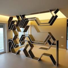 Apartamento : Salas de jantar  por Poliune,Moderno