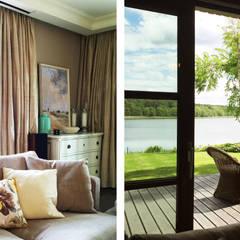 Dom nad jeziorem: styl , w kategorii Taras zaprojektowany przez SAS