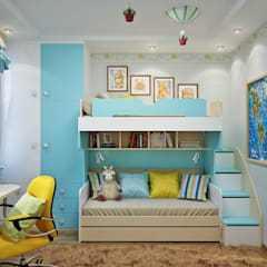 Quarto infantil  por Студия дизайна Interior Design IDEAS