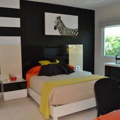 Dormitorios infantiles de estilo  por EL DIVÁN Arquitectura & Diseño de Interiores