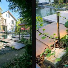 Van Mierlo Tuinen | Exclusieve Japanse Watertuin: aziatische Tuin door Van Mierlo Tuinen | Exclusieve Tuinontwerpen