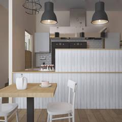 Lada: styl , w kategorii Gastronomia zaprojektowany przez ZAWICKA-ID Projektowanie wnętrz