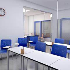 Academia de enseñanza: Escuelas de estilo  de Pepa Navarro Interiorismo