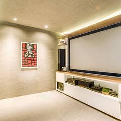 Salas de entretenimiento de estilo moderno de Art.chitecture, Taller de Arquitectura e Interiorismo 📍 Cancún, México. Moderno