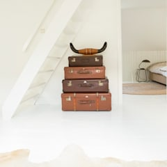 Totaal interieurontwerp stadsboerderij uit eind 1800:  Studeerkamer/kantoor door Makien Verkroost interior design + styling,