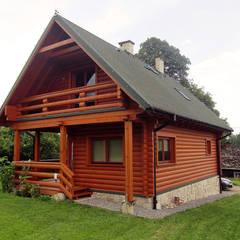 Realizacja projektu Biedronka bal: styl wiejskie, w kategorii Domy zaprojektowany przez Biuro Projektów MTM Styl - domywstylu.pl