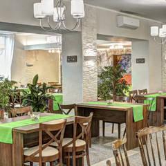 Restauracja Beskid: styl , w kategorii Gastronomia zaprojektowany przez MARTA PAWLAK  ARCHITEKTURA  WNĘTRZ