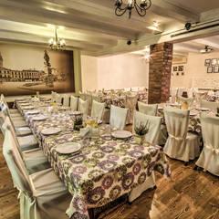 Restauracja EkoTradycja: styl , w kategorii Gastronomia zaprojektowany przez MARTA PAWLAK  ARCHITEKTURA  WNĘTRZ