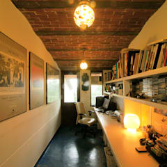 Duplex Apartment, Creativity, Auroville:  Study/office by C&M Architects