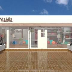 Mahila - Tienda de Ropa: Oficinas y Tiendas de estilo  por VI Arquitectura & Dis. Interior,Ecléctico