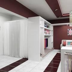 Mahila - Tienda de Ropa: Galerías y espacios comerciales de estilo  por VI Arquitectura & Dis. Interior