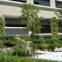 Coeur d'îlot n°17 - La Capelette: Espaces commerciaux de style  par Landscape Design Environnement
