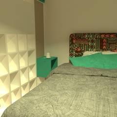 Dormitorio Bebé y Juevenil: Dormitorios infantiles de estilo moderno por Estudio BDesign