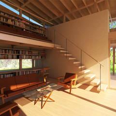 伊豆の家: エイチ・アンド一級建築士事務所 H& Architects & Associatesが手掛けたリビングです。