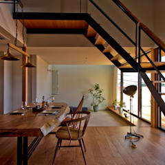 scandinavian Dining room by エイチ・アンド一級建築士事務所 H& Architects & Associates