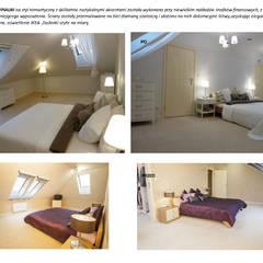 Metamorfoza sypialni: styl , w kategorii Sypialnia zaprojektowany przez Koncepcja Wnętrz