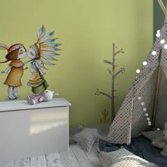 Chambre d'une petite sioux !: Chambre d'enfant de style  par MJ Intérieurs