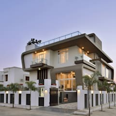 A villa in udaipur --- india:  Houses by FORM SPACE N DESIGN ARCHITECTS