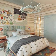 غرفة نوم تنفيذ Бражинская,