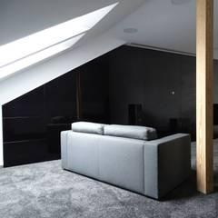 www.minimoo.pl: styl , w kategorii Pokój multimedialny zaprojektowany przez MINIMOO Architektura Wnętrz