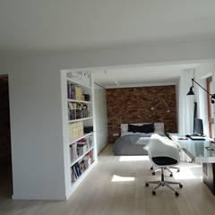 Oficinas de estilo  por MINIMOO Architektura Wnętrz