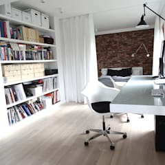 Study/office by MINIMOO Architektura Wnętrz, Minimalist