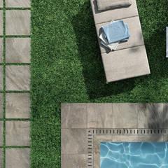 Plaza Yapı Malzemeleri – Havuz & Bahçe Seramik: eklektik tarz tarz Bahçe